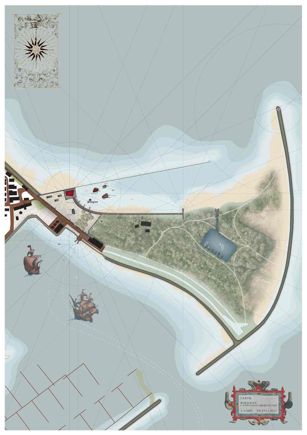 Diekman-landschapsarchitecten_-Zuiderzee-museum_waterwerken_-FINAL-PLAN