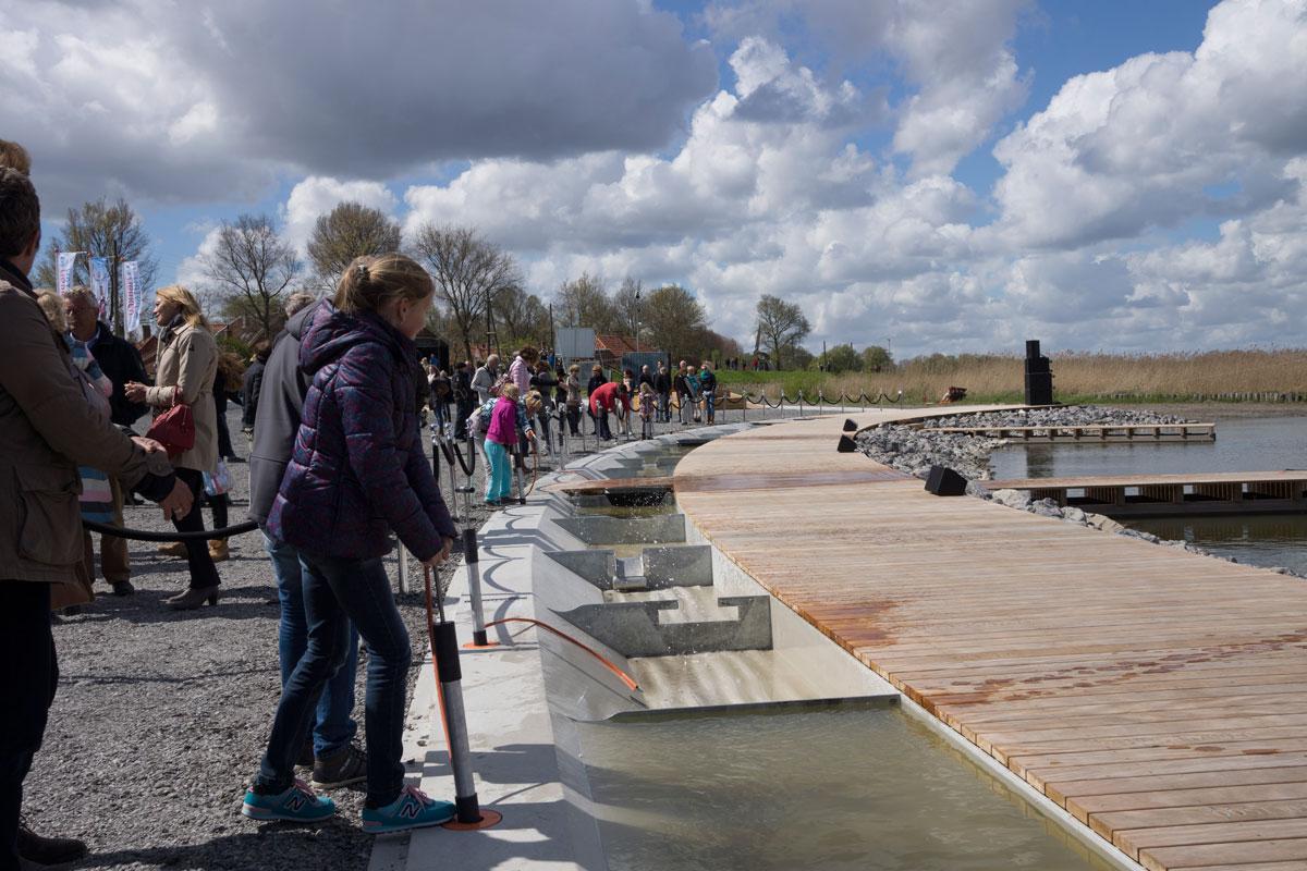 Diekman-landschapsarchitecten_Zuiderzee-museum_waterwerken_watergoot