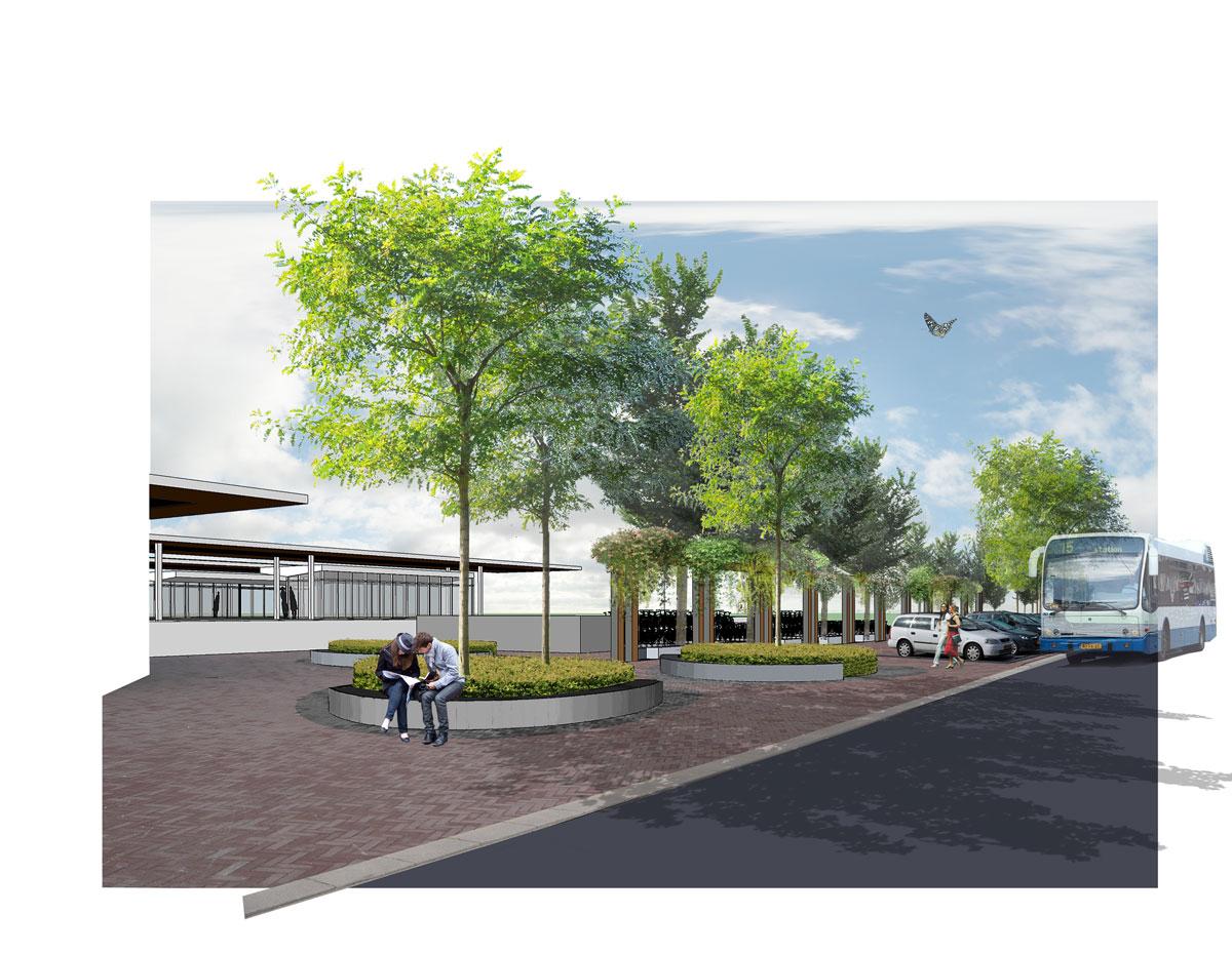 diekman-Landschapsarchitecten_Elst-centraal_StationWest_collage