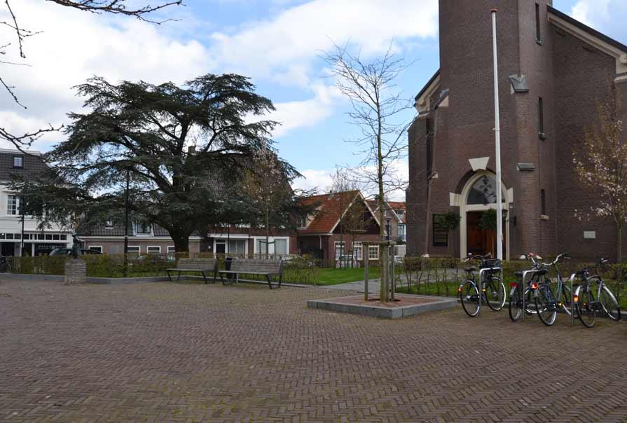 diekman-landschapsarchitecte-_Dorpsplein-Amstelveen_overzichtsfoto-entree